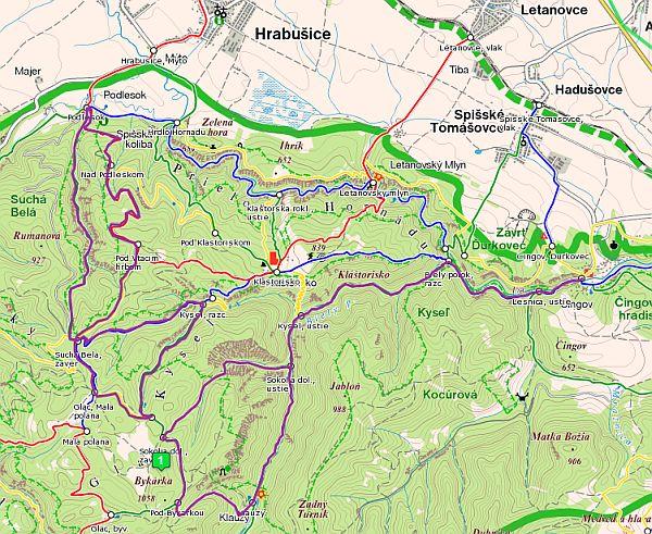 szlovák paradicsom térkép Még nagyobb légtorna a szurdokok paradicsomában   Szép kilátás! szlovák paradicsom térkép