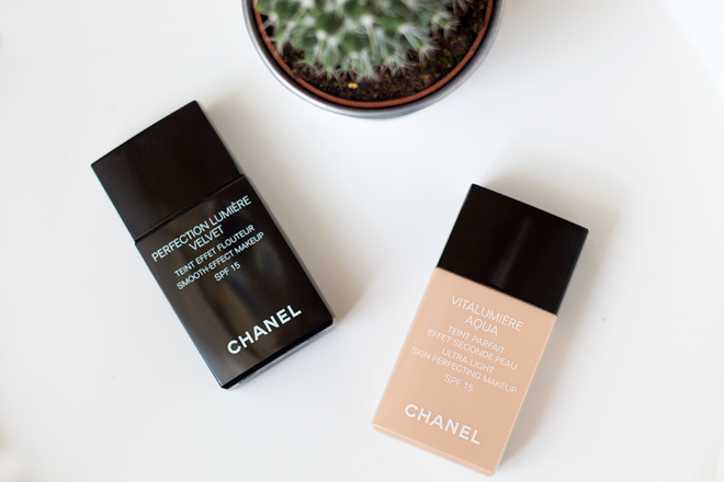 THE LIGHT & THE SMOOTH | CHANEL VITALUMIÉRE AQUA & PERFECTION LUMIÉRE VELVET
