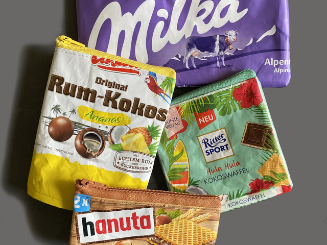 Csokik csomagolásából készít tasikat egy magyar lány! Megmutatjuk milyenek!