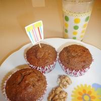 Lélekmelengető fűszeres muffin diótejjel hideg tavaszi napokra