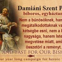 6. IMÁDKOZZUNK ÉS BÖJTÖLJÜNK FŐPAPJAINKÉRT!
