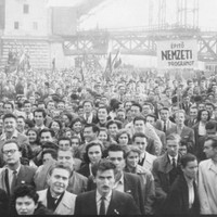 ÉLJEN 1956-OS MAGYAR FORRADALOM ÉS SZABADSÁGHARC MÁIG AKTUÁLIS ESZMÉJE!