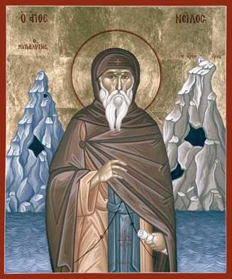 Nilus of Sinai (Nilus the Elder) (d. c. 430).jpg