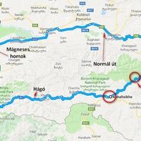 Út a Fekete-tengerre: a Goderdzi hágó