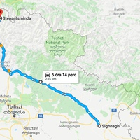 A grúz hadiúton a Kaukázusba