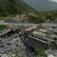 Túra a Shkhara gleccserhez