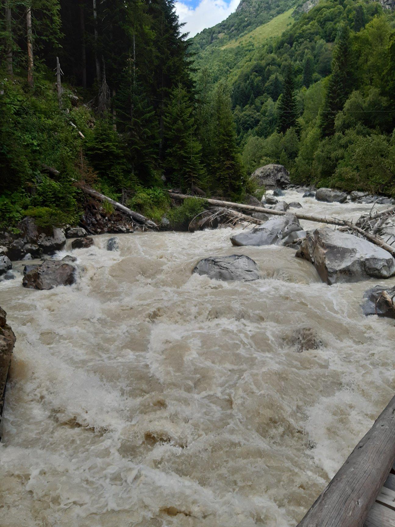 A vad Dolra folyó