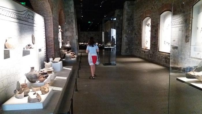 A múzeum belülről.