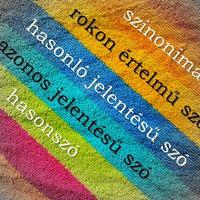 Szinonimák – avagy mi fán terem a változatos fogalmazás