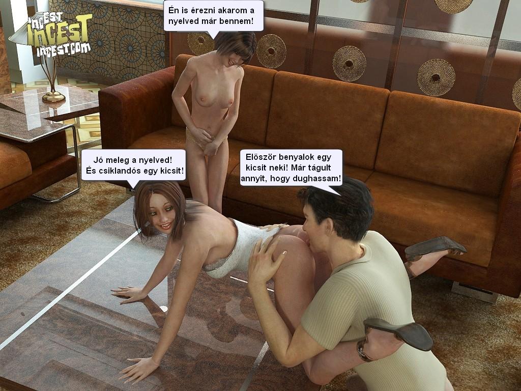 Vérfertőzés képregények pornó