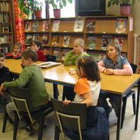 Foglalkozás a Boráros téri könyvtárban