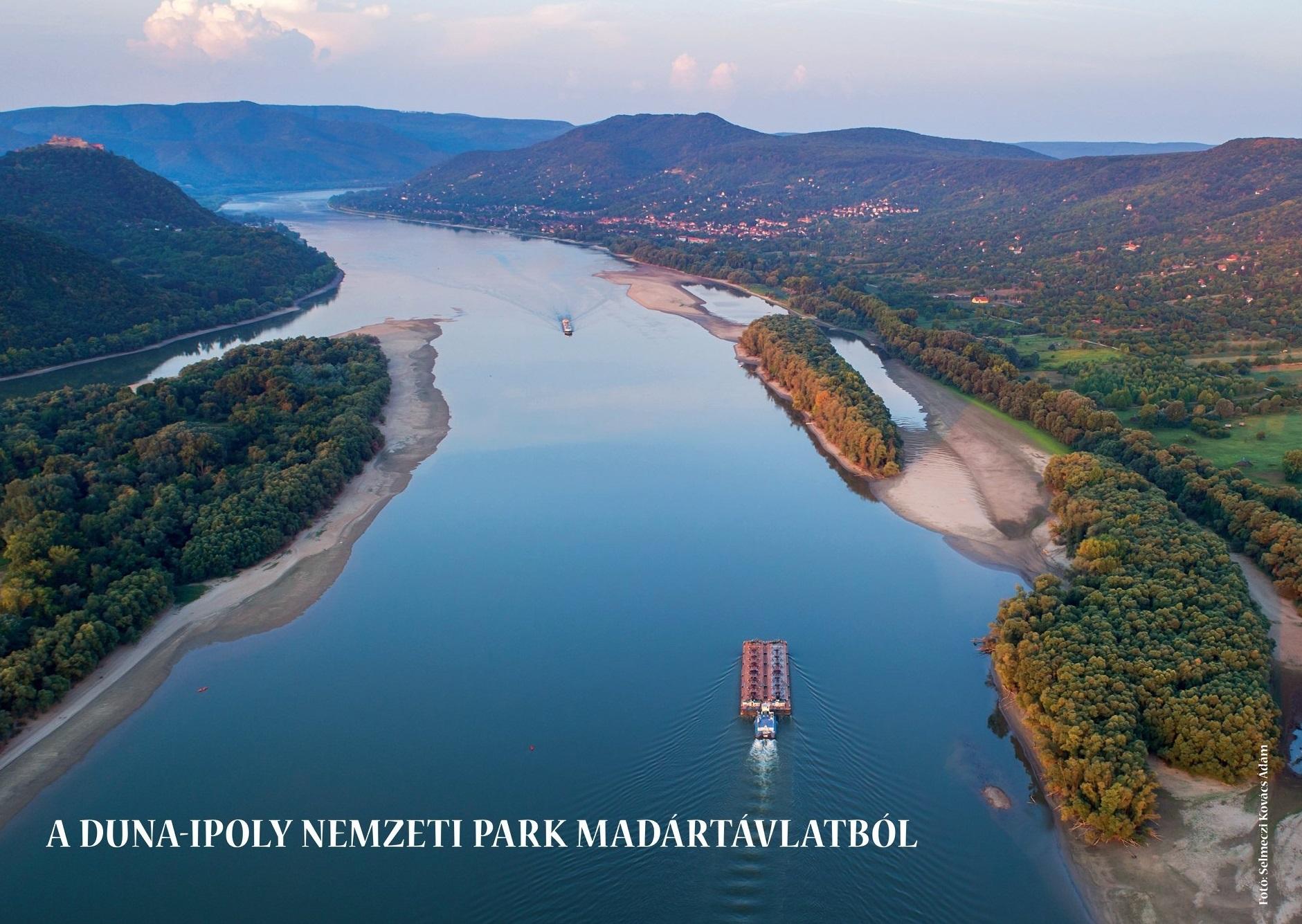 A Duna-Ipoly Nemzeti Park madártávlatból - Selmeczi Kovács Ádám fantasztikus légi fotóival.