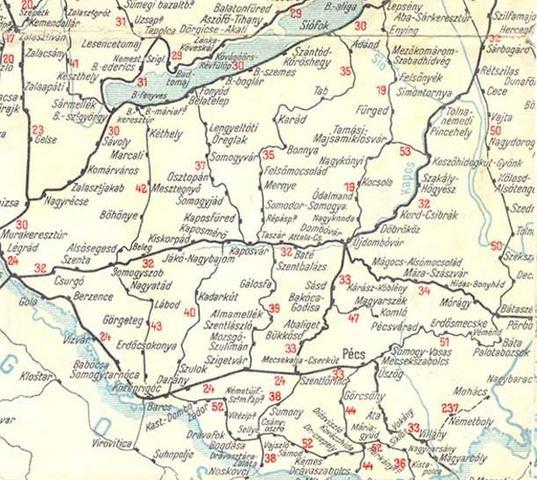 szigetvár térkép Szigetvár – Kaposvár vasútvonal   Szigetvár szigetvár térkép