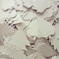 In Box / Beérkező levelek – Papír installáció