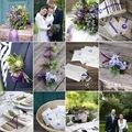 Lila esküvő