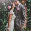 Arany és csipke esküvő