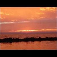 Varázslatos szigligeti naplemente