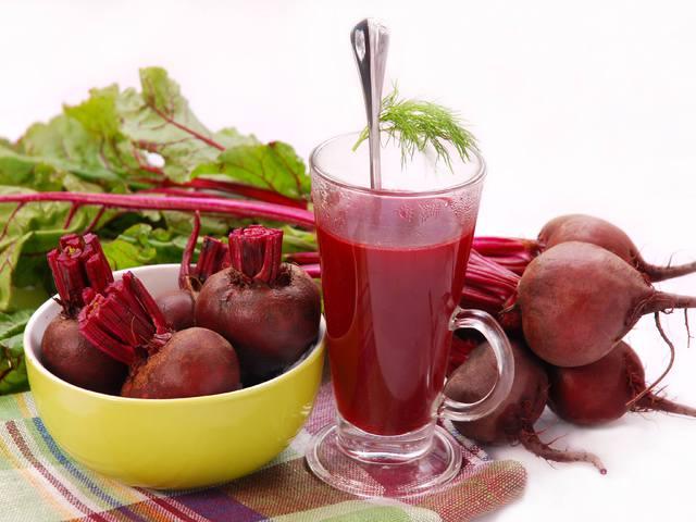 Juice receptek céklával
