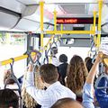 Kitört a forradalom a BKV buszon