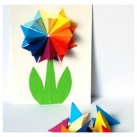 Tavaszi zsongás: papírdíszek gyereknek