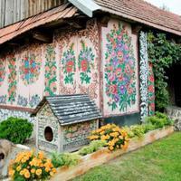 Zalipie, a színpompás lengyel falu