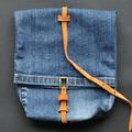 Farmertáska egy régi nadrágodból