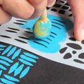 Egy hétköznapi vászontáska mintázása textilfestéssel