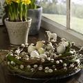 Tavaszi és húsvéti dekorációk