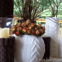 Őszi hangulatok: Pulóveres vázák