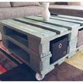 Asztal raklapból nappaliba vagy teraszra - Készíts bútort saját kezűleg!