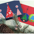 Ünnepi képeslapok - Karácsonyváró ötletek kis kézügyeskedőknek, 2. fejezet