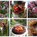 Őszi dekorációk természetes alapanyagokból