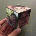 Rubik kocka fényképekkel