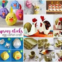 Mókás húsvéti figurák tojástartóból