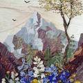 A szirmokkal festés művészete - Képkeretben a természet