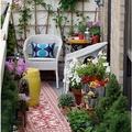 Kreatív kiskertek erkélyre, teraszra