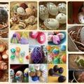 Ötletek és minták tojásfestéshez a hagyományostól a modernig