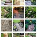 Különleges kerti járdák, stílusos lépőkövek