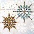 Tündöklő karácsonyi gyöngycsillagok