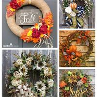 Káprázatos őszi ajtódíszek