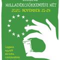 Európai Hulladékcsökkentési Hét 2020 - Környezettudatosság komolyan és játékosan