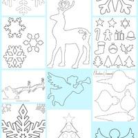 Karácsonyi mintaívek gyűjteménye