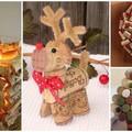 Karácsonyi díszek parafa dugókból