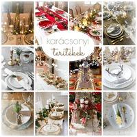 Dekorációs tippek karácsonyi terítékekhez