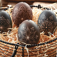 Húsvéti hímes tojások - hagyományos festési technikák