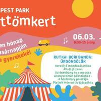 Vasárnap ismét Pöttömkert a Budapest Parkban, a Rutkai Bori Banda koncertjével
