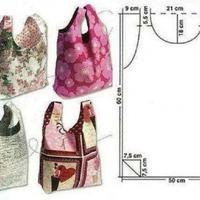 Könnyű nyári táskák szabásmintával
