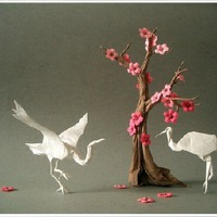 Életre kelt origami figurák