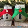 Aranyos hóember gyertyák - Ajándéknak vagy a magad szórakoztatására