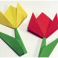Tízperces trükkök - Origami tulipán türelmetlen tavaszváróknak